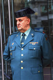 Gendarme Police Minstry of Justice Puerta del Sol Gateway of the Stock Photo