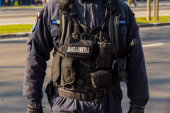 Gendarme uniform Stock Photos