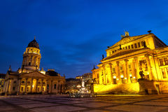 Gendarmenmarkt à Berlin Photos stock