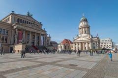 Gendarmenmarkt, Берлин стоковая фотография