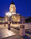 Gendarmenmarkt广场在柏林 免版税库存图片