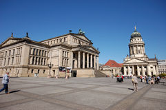 The Gendarmenmarkt in Berlin stock photo