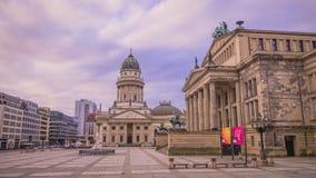 Gendarmenmarkt in Berlin, Deutschland Lizenzfreie Stockfotos