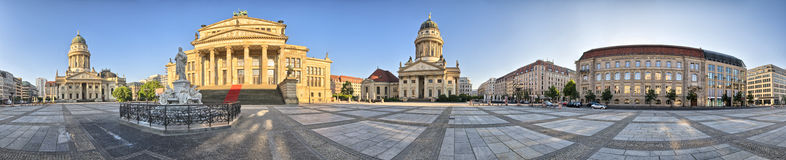 Gendarmenmarkt in Berlin - Germany royalty free stock photo