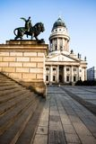 Gendarmenmarkt in Berlin, Germany. View on German Cathedral and Konzerthaus. Stock Photos