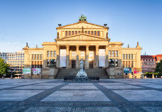 Gendarmenmarkt in Berlin, Germany. View on German Cathedral and Royalty Free Stock Image
