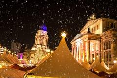 Gendarmenmarkt christmas market Stock Photo