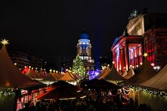 Gendarmenmarkt em Berlim Fotografia de Stock