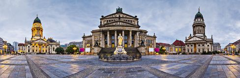 Gendarmenmarkt en Berlín fotografía de archivo