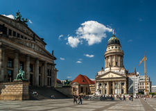 The gendarmenmarkt Royalty Free Stock Photo