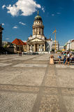 The gendarmenmarkt Royalty Free Stock Images