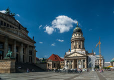 The gendarmenmarkt Stock Photo