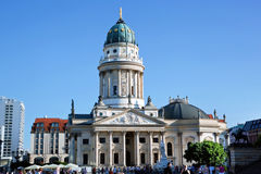 The Gendarmenmarkt. German Cathedral in Berlin Royalty Free Stock Photos