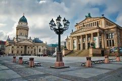 Gendarmenmarkt-Quadrat Stockfotos