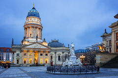 Gendarmenmarkt square in Berlin, Germany Royalty Free Stock Photos