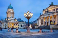 Gendarmenmarkt square in Berlin, Germany Royalty Free Stock Photography
