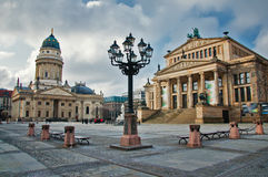 Gendarmenmarkt square Stock Photos
