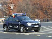 Gendarmerie car Stock Images