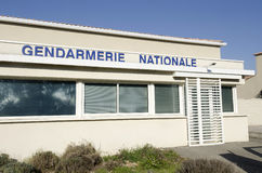 Gendarmerie, police française Photos stock