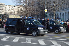 Gendarmerie van Stock Photography