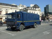 Gendarmerieauto stockbilder