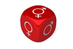 Gender Die Royalty Free Stock Images