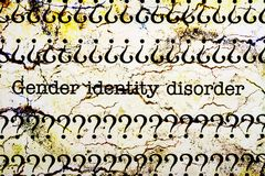 Gender identity disorder. Close up of Gender identity disorder Stock Photo