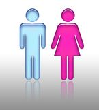 Gender Pictogram Royalty Free Stock Photography