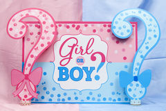 Gender Reveal stock image