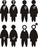 Gender - sexual orientation Royalty Free Stock Photos