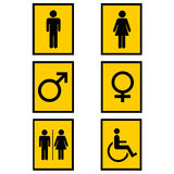 Gender signs Stock Image