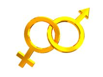 Gender signs Stock Images