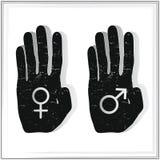 Gender symbols Stock Images