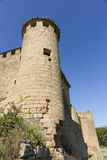 ¡ Gendulà в руинах Путь St James Наварра, Испания Стоковые Изображения