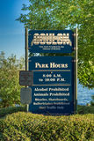 Gene Coulon Park Image stock
