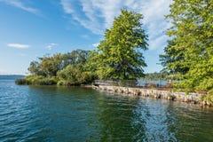 Gene Coulon Park Island lizenzfreie stockbilder