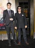 Gene Simmons e Nick Simmons Fotografia Stock