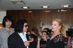 Gene  Simmons  Family Royalty Free Stock Images
