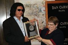 Gene Simmons HAIFA nagroda Fotografia Royalty Free