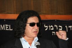 Gene  Simmons  HAIFA  REWARD Stock Photography