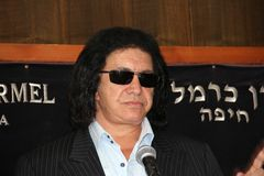 Gene  Simmons  HAIFA  REWARD Stock Photo