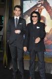 Gene Simmons & Nick Simmons Royalty Free Stock Photos
