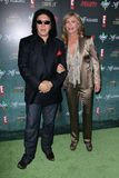 Gene Simmons, Shannon Tweed Stock Images