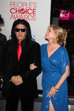 Gene Simmons, Shannon Tweed Royalty Free Stock Photo