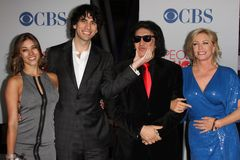 Gene Simmons, Shannon Tweed Royalty Free Stock Photos