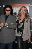 Gene Simmons, Shannon Tweed Royalty Free Stock Image