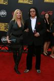 Gene Simmons,Shannon Tweed Stock Photos