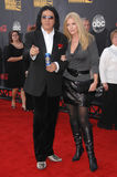 Gene Simmons,Shannon Tweed Stock Images