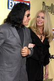 Gene Simmons,Shannon Tweed Royalty Free Stock Photo