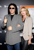 Gene Simmons and Shannon Tweed Royalty Free Stock Images
